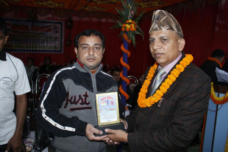 8th Indo-Nepal Table Soccer Championship 2013
